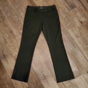 Express slacks, black straight/wide leg. Size: 6S